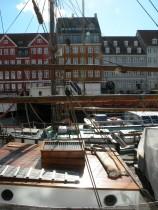 koppenhága híres kikötő 'utcája'