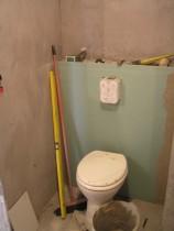 WC-lehúzó - Amikor már készült a burkolatterv.